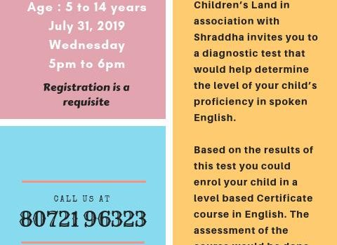 Diagnostic Test for Graded Examination in Spoken English