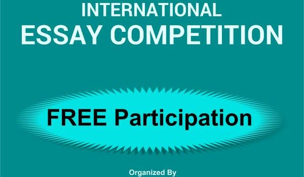Monthly International Essay Competition July-2019