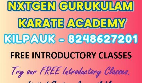 FREE TRIAL KARATE CLASSES FOR KIDS At Kilpauk, T.I.M.E. Kids Preschool