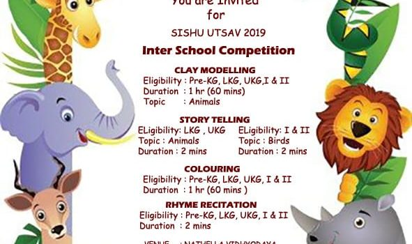 SISHU UTSAV INTER SCHOOL COMPETITION – 2019