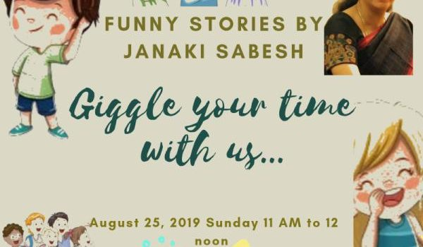 """""""Funny Stories"""" – Storytelling Session"""