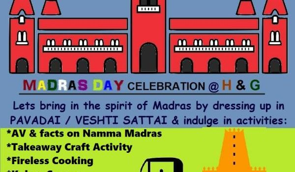MADRAS day celebrations at Hansel Gretel Kids
