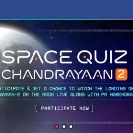 Online Space Quiz by ISRO