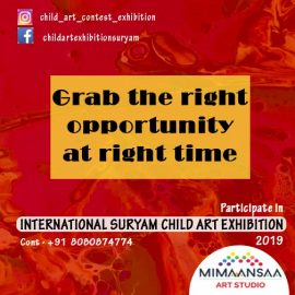 Suryam International Child Art Drawing-Painting Exhibition 2019