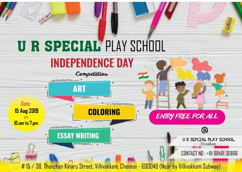 Independence Day Competition by U R Special play group – Kids Contests