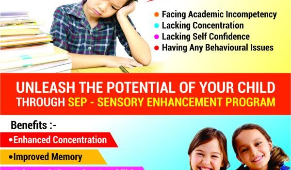 Super Minds 2 day Workshop of Sensory Enhancement Program