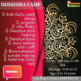 DUSSEHRA camp @ Global Rabbee, T nagar