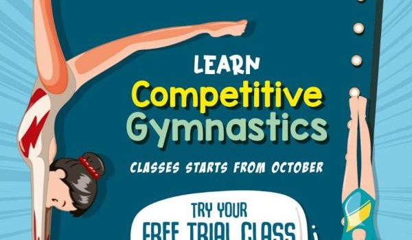 Competitive Gymnastics at Adyar