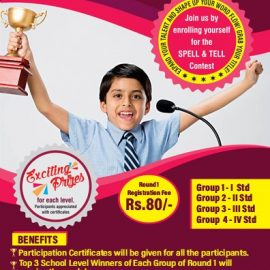 District Level Spell & Tell Competition