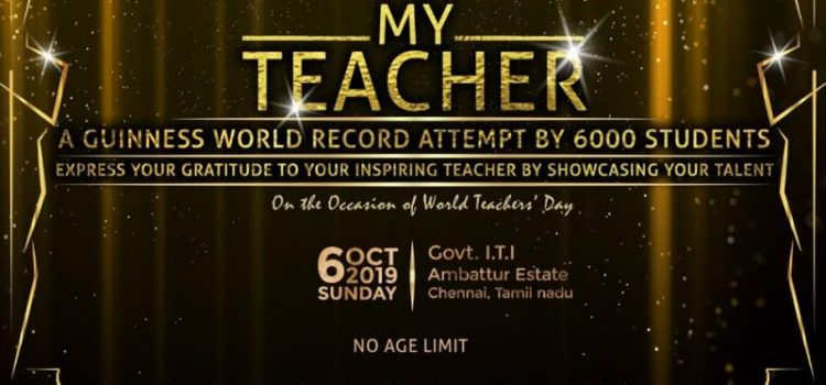 Shree Music Academy presents 'My Teacher' A Guinness World Record Attempt