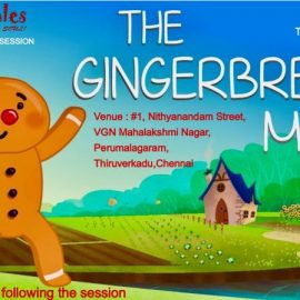 Weekend Storytelling Session on 19/10/19 | The Ginger Breadman