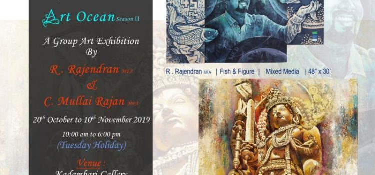 Group Art Exhibition – ART OCEAN – Season 2