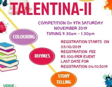 Kids Talentina – II [2019] Competition for Children on 09.11.2019