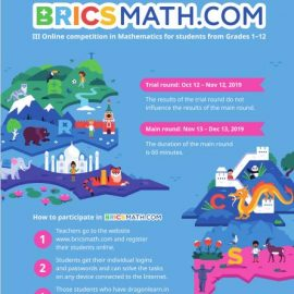 Bricsmath.com Annual International Online competition in Mathematics / General Ability for students of grades 1-12