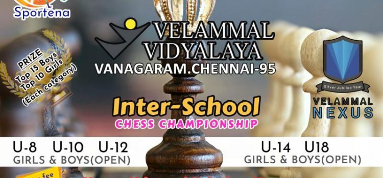 Inter School Chess Tournament at Velammal Vidyalaya,Vanagaram