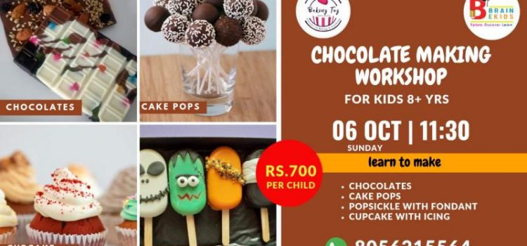 ChocolateMaking Workshop for Kids by Baking Tag!