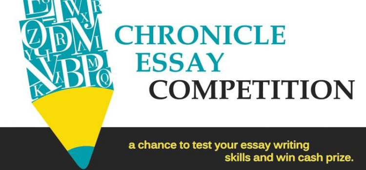 Chronicle Essay Competition 2019