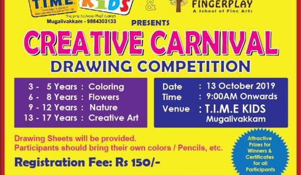 Creative Carnival at TIME Kids Mugalivakkam