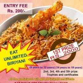 Chennai Oru Unnavu Thiruvizha Competition