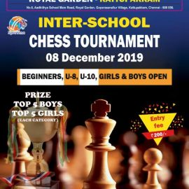AIPS- INTER SCHOOL CHESS COMPETITION 08th Dec 2019