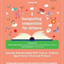 Storytelling Competition at Odyssey on 30th November, 2019