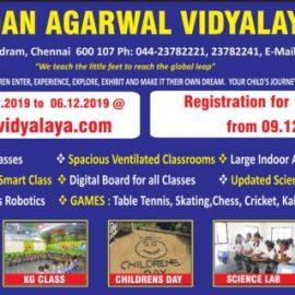 Dayasadan Agarwal Vidyalaya, Nerkundram 2020-21 Admission