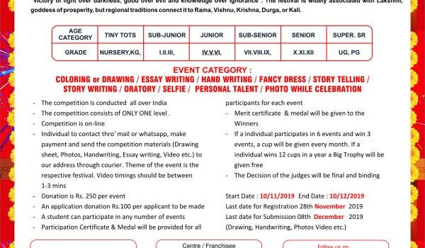 VIBHA Festival of India-2019-20 Month of November – Monthly Online Competition
