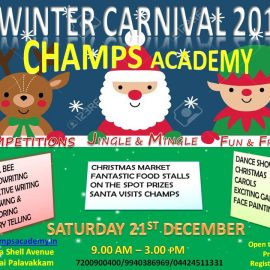 Champs Academy Winter Carnival 2019