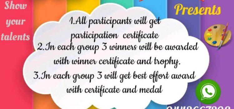Smart Super Stars Kids Online Competition 2020