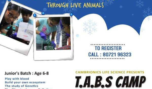Cambrionics Life Sciences – Winter Camp 2019