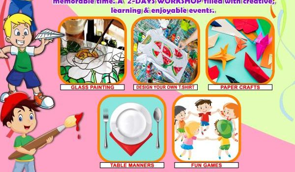 """FUN WHIZ"" WEEKEND WORKSHOP FOR KIDS on 28-12-19 (Sat) & 29-12-19 (Sun)"
