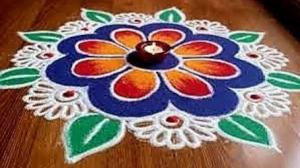 Rangoli Competition on 4th January 2020