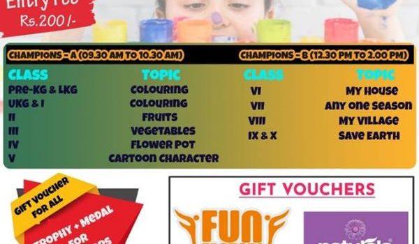 SPORTENA ARTICA '20 – Drawing & Colouring Competition for School children