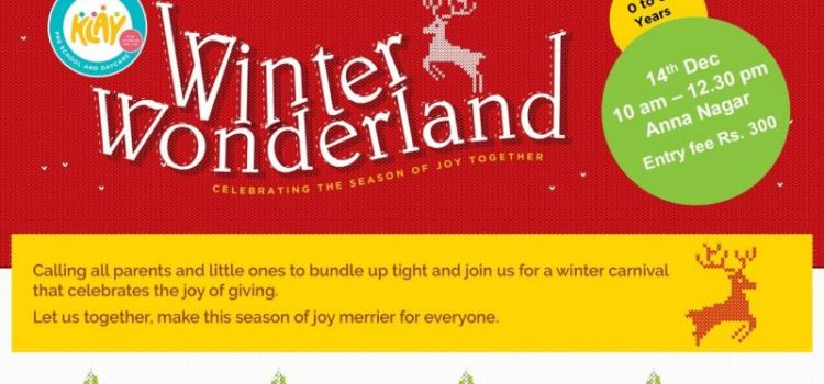 KLAY Winter Wonderland on 14 December 2019 at Chennai