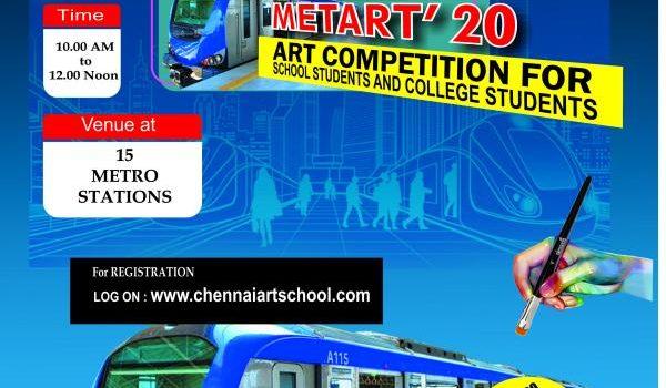 Chennai Metart'20 Inter-school Art Competition