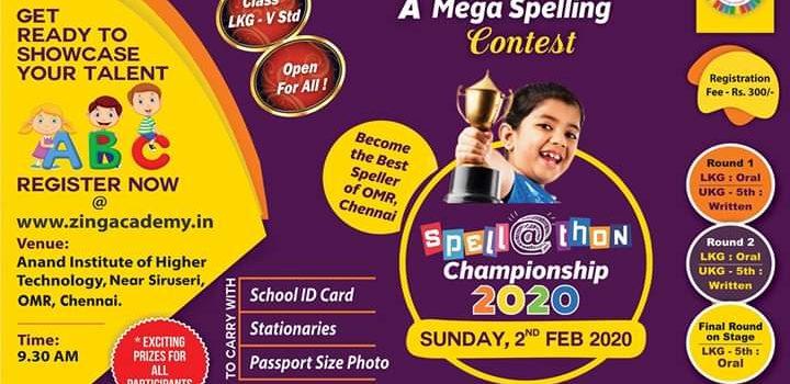 ZING Spellathon Championship 2020