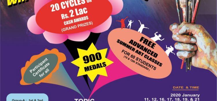 Chennai Bookfair Art Care-20 Interschool Competition