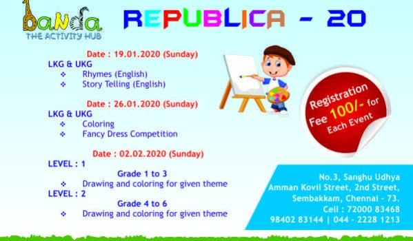 Triple E Foundation & Banda Presents REPUBLICA – 2020 Annual Kids Contest