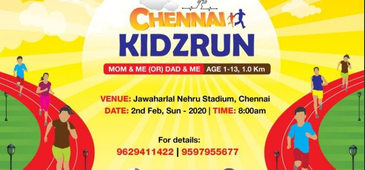 Chennai Kidz Run by VJ Eventz on Feb 2, 2020