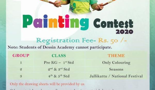 DESSIN ACADEMY PAINTING CONTEST 2020