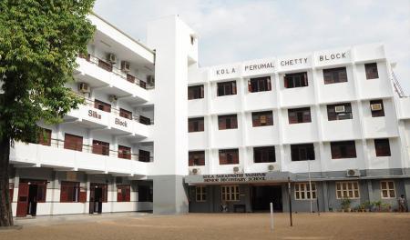 Kola Saraswathi Vaishnav Senior Sec School, Kilpauk PreKG Admission 2020-21