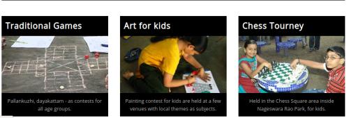 Sundaram Finance Mylapore Festival 2020 Contests & Workshops for Kids