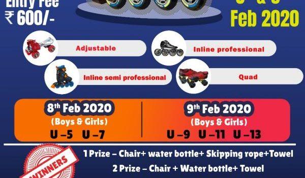 Sportena Interschool Roller Skating Champions 2020