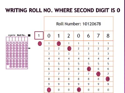 CBSE Board Exams 2020 | How to Write the Roll Numbers in the OMR Answer Sheet