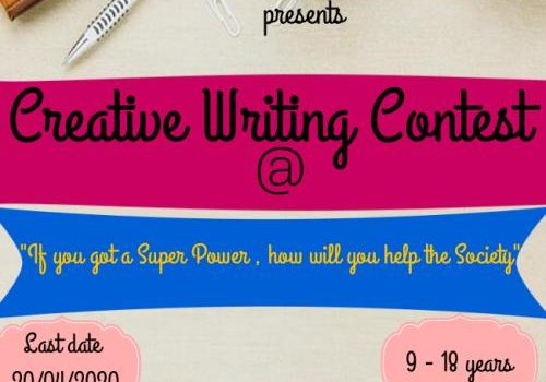 Creative Writing Contest by Sparkling Stars