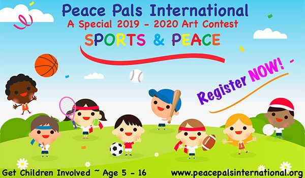 Peace Pals International Art Contest 2019-2020