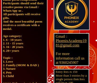 Phoenix Academy Online Poem Competition