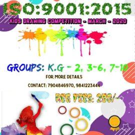 Sri Vari Educational Trust Kids Drawing Competition