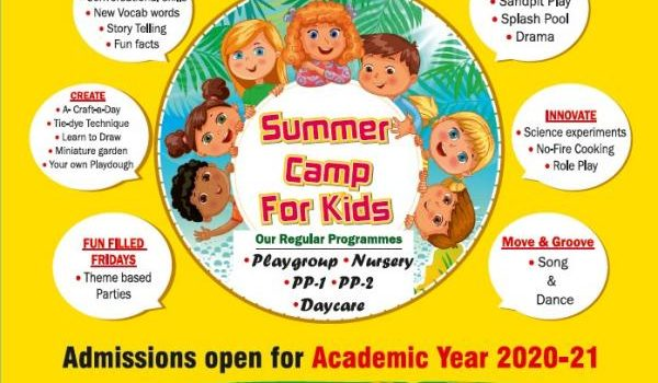 Summer Camp 2020 for Kids at Kilpauk, T.I.M.E Kids Preschool