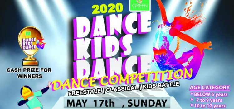 G Green Channel DANCE KIDS DANCE 2020 Competition on May 17, 2020